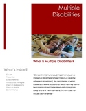 Multiple Disabilities Brochure for Parents and Teachers
