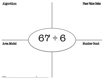Multiple Division Strategies Quick Check (Eureka Math)