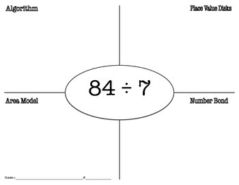 Multiple Division Strategies Quick Check (Eureka Math)