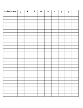 Multiple Format Super Simple Letters & Sounds Assessment