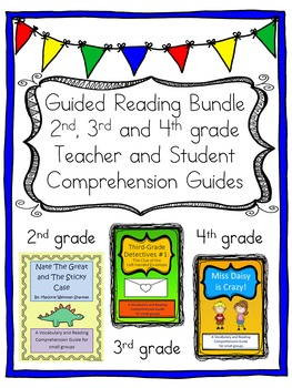 Multiple Grade Guided Reading Bundle: Second, Third and Fourth Grade