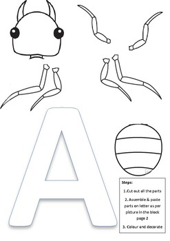 Multiple Intelligence Alphabet letters