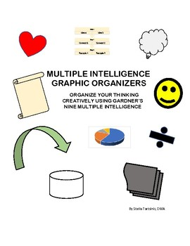 Multiple Intelligence Graphic Organizers
