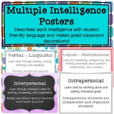 Multiple Intelligence Poster