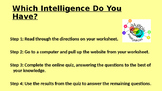 The Theory of Multiple Intelligences- PowerPoint