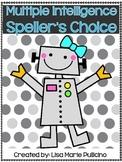 Multiple Intelligence Speller's Choice Menu