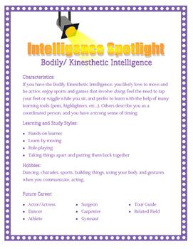 Multiple Intelligence Spotlight: Bodily/Kinesthetic