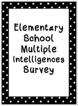 Multiple Intelligence Survey