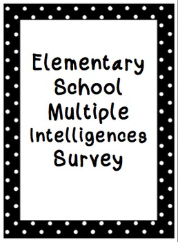 Multiple Intelligence Survey