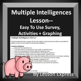 Multiple Intelligence Survey Lesson -- Activities, Graph,