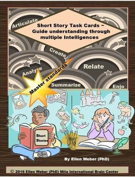 Multiple Intelligence Task Cards for all Short Stories