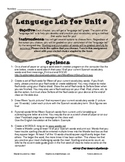 Multiple Intelligence Vocabulary and Language Building-- G
