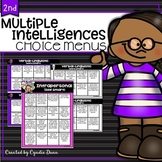 Choice Boards for Multiple Intelligences Distance Learning