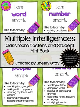 Multiple Intelligences: Classroom Posters and Mini-Book