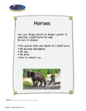 Multiple Intelligences:  Creativity for Pixel Adventure #7 - Horses