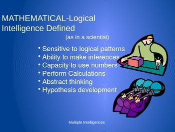 Multiple Intelligences PowerPoint Presentation