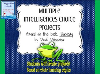 Multiple Intelligences Choice Project Based on the Book Tuesday by David Wiesner