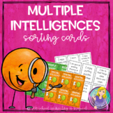 Multiple Intelligences Sorting Cards