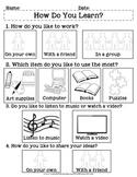 Multiple Intelligences Survey: How Do You Learn?