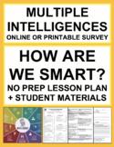 Multiple Intelligences Survey Lesson