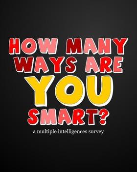 Multiple Intelligences Survey for Beginning of School Year