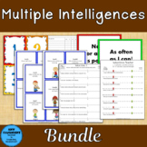 Multiple Intelligences Surveys Bundle