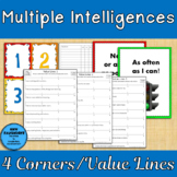 Multiple Intelligences Surveys Four Corners Value Lines