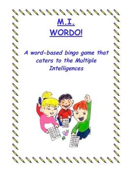 Multiple Intelligences Wordo - A Spelling Game