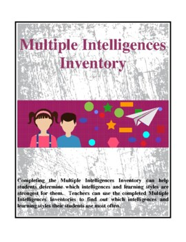 Multiple Intelligences and Learning Styles Inventory