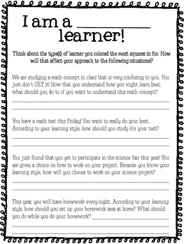 Multiple Intelligences/Learning Styles Activity Bundle {Back to School Activity}