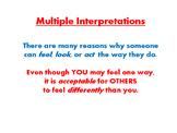 Multiple Interpretations Posters