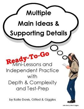 Multiple Main Ideas - Ready-To-Go!