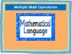 Multiple Math Operations and Mathematical Language