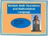 Multiple Math Operations and Mathematical Language