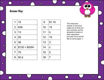 Multiple Math Skills Word Problems QR Task Cards for Scoot - Math Center TEKS
