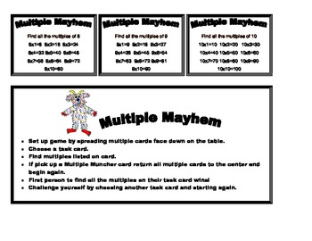 Multiple Mayhem Game
