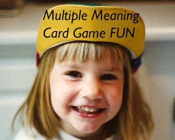 Multiple Meaning Card Game K-2 FUN!