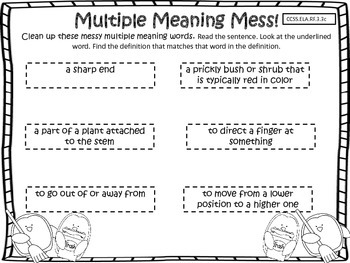Multiple Meaning Center