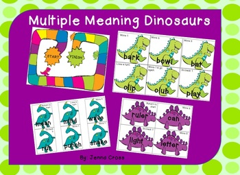 Multiple Meaning Dinosaurs