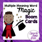 Multiple Meaning Magic Boom Cards