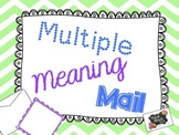 Multiple Meaning Mail