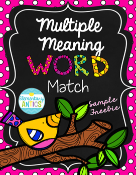 Multiple Meaning Match Center