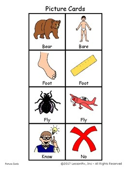 Multiple Meaning Pictures