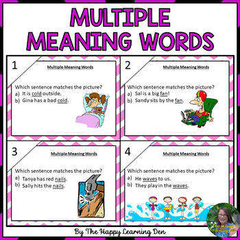 #Springintosavings Multiple Meaning Words