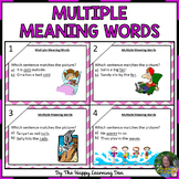 Multiple Meaning Words with Context Clues and Picture Clues