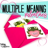 Valentines Multiple Meaning Words and Craftivity