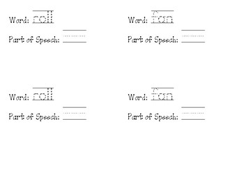 Multiple Meaning Word Book PDF