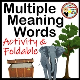 Multiple Meaning Word Activity