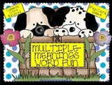Multiple-Meaning Word Fun (Common Core Aligned)