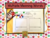 Multiple Meaning Words {Graphic Organizer}